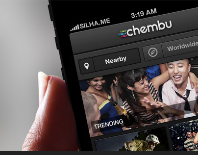 iPhone UI Design – Chembu