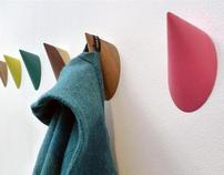 Limpet Wall Hook | WOOD | KIRSTY WHYTE