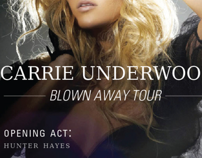 Carrie Underwood Tour Poster