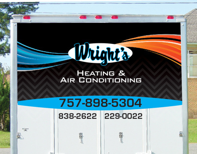 Wrights Heating & Cooling Graphics