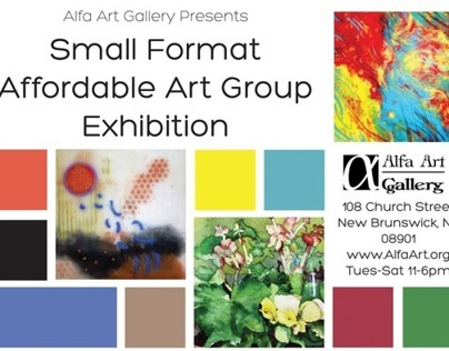 Small Format Art Group Exhibition - Alfa Art Gallery