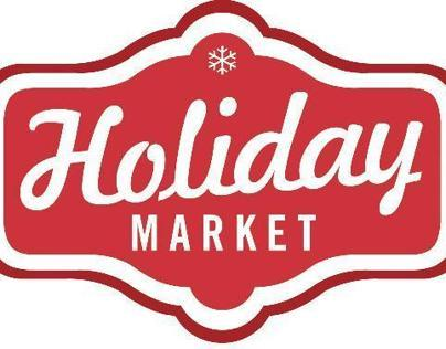 Holiday Market and week of Dec 14 event posters