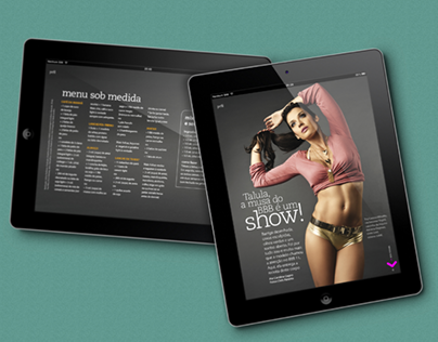 Workout Article Design for iPad #2
