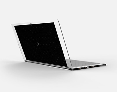FUJITSU: Luce / Solar Panel Powered Laptop