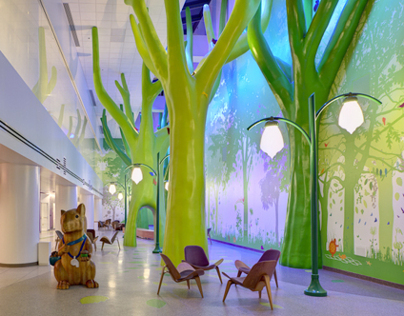 Nationwide Childrens Hospital Interiors