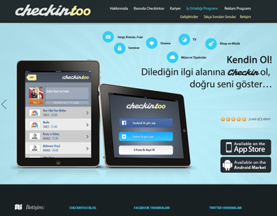 Web Interface - checkintoo