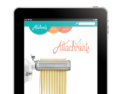 KitchenAid Ipad App