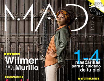 M.A.D Magazine | Fashion Gone Cold | December Issue #1