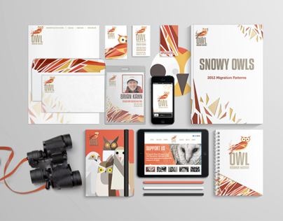 Owl Research Institute Branding/Identity