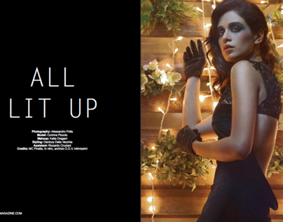 ALL LIT UP - UPTEMPO MAGAZINE DEC 12