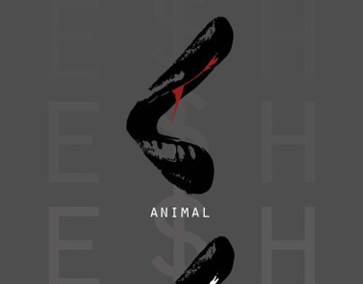 Ke$ha, Animal Cannibal Warrior poster