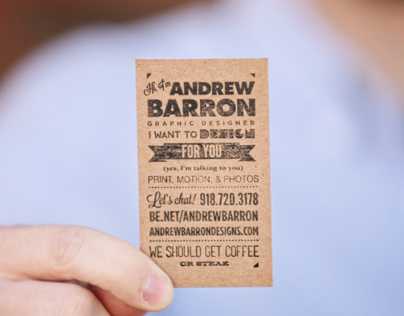 My Custom Stamped Business Cards