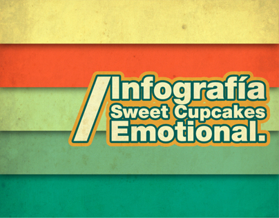 Infografía Sweet cupcakes emotional