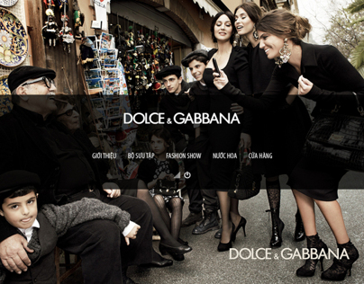Dolce&Gabbana interactive CD