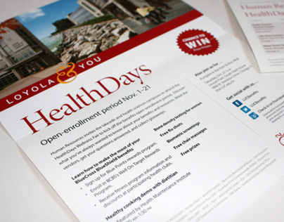 HealthDays Mailer - Loyola University