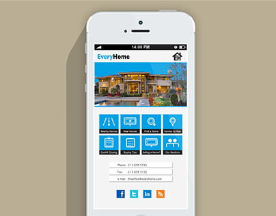 EveryHome Mobile Website