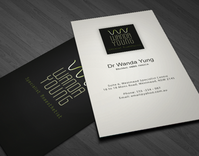 Wanda Young, Business card