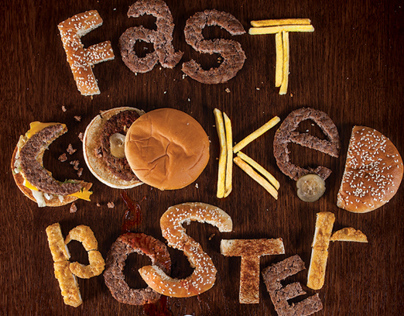Fast Cooked Poster / BHSAD Student Work