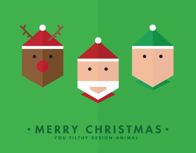 Merry Christmas you filthy design-animal