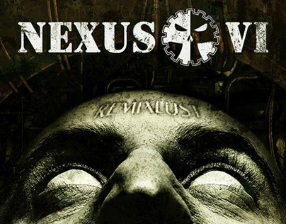"Nexus VI ""RemixLust"" (CD design)"