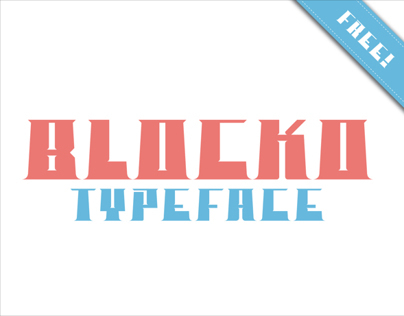 BLOCKO_typeface (free)