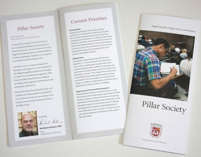 Pillar Society Brochure
