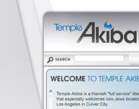 Temple Akiba Website