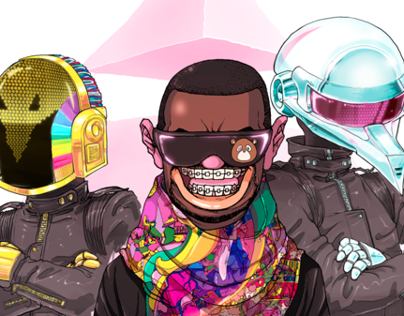 Sakiroo Choi Collab - West/DaftPunk Stronger 2007
