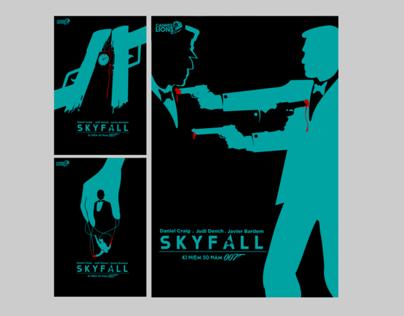 Skyfall minimalist poster series