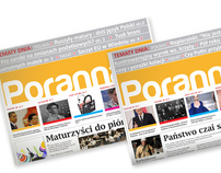 Poranna - daily free newspapper