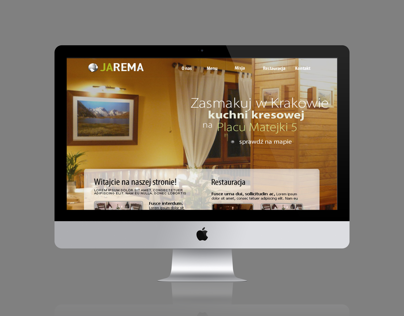 jarema web design project