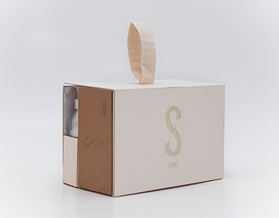 SKINS Shoe Package Design