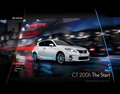 2011 LEXUS CT200 - THE START