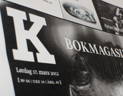 Bokmagasinet — Magazine