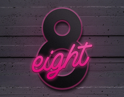 EIGHT 8 // TYPOGRAPHY ILLUSTRATIONS:::