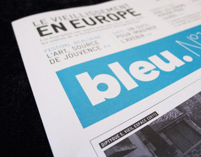 Bleu Newspaper