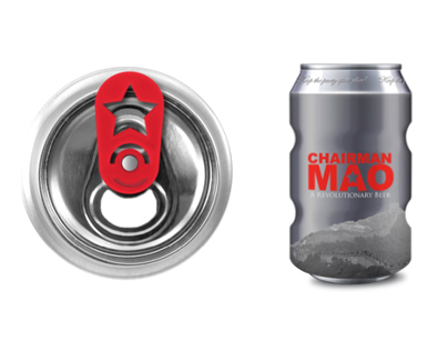Chairman Mao beer can