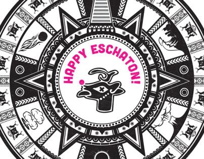 Happy Eschaton! Holiday Card