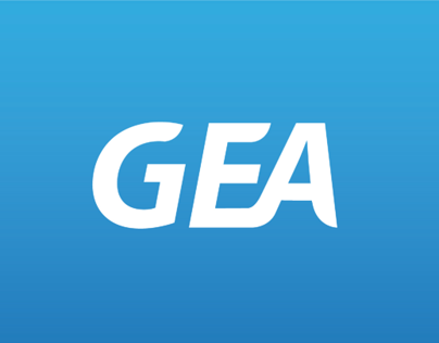 GEA website and corporate design