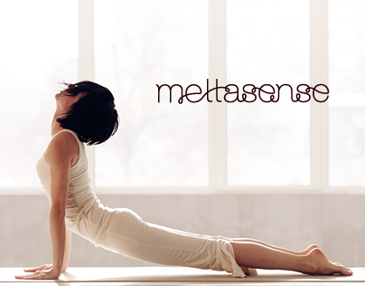 Mettasense yoga logo & corporate identity
