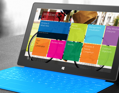 Windows 8 Sales Training App