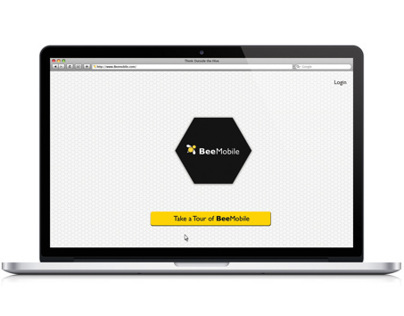 BeeMobile Application Website