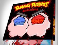 RUNNING POTATOES :: 3D Glasses Artwork / CD Packaging