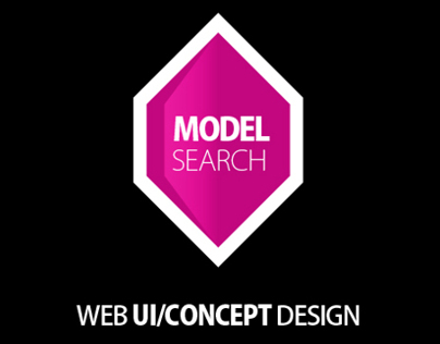 Model Search Website U I& Concept