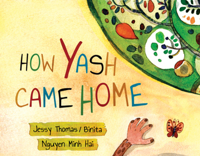 How Yash came home - children book