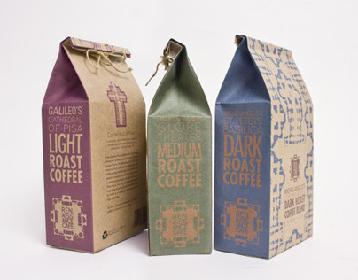 Renaissance Cafe Branding and Packaging