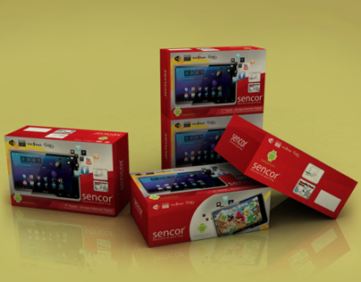 Sencor Tablet  Package Design