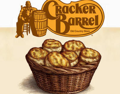 Cracker Barrel Campaign Illustrations by Steven Noble