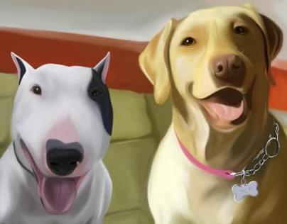 Digital Art, Client Pets