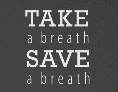 Take a Breath Save a Breath Campaign